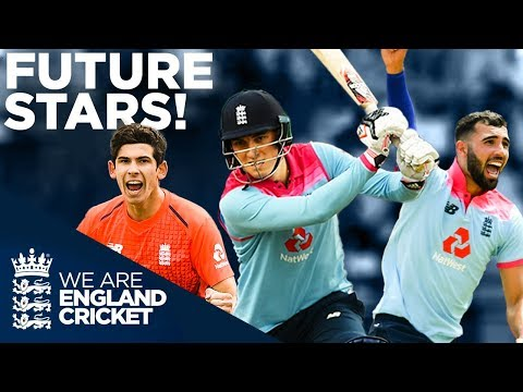 England's Next Stars! | Pat Brown, Tom Banton, Saqib Mahmood, Matt Parkinson | England Cricket 2020