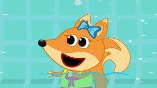 The Fox Family and friends cartoon for kids | knock knock trick or treat | new full episodes #860