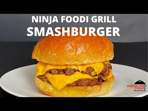 ninja-foodi-grill-smashburgers