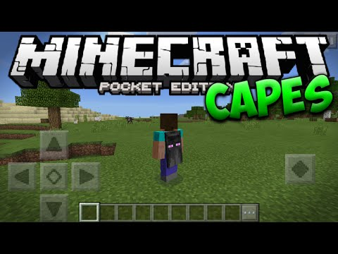 OFFICIAL MINECON CAPES in MINECRAFT PE 0.15.9 UPDATE - MCPE 0.15.9 (Pocket Edition)