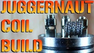 Juggernaut Coil Build Tutorial How To.. In this tutorial i will be ...