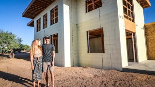 TIMELAPSE - Building Our ICF Home In 20 Minutes