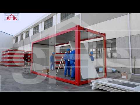 SHSHouse – Quick Assembly Flat pack Container Office