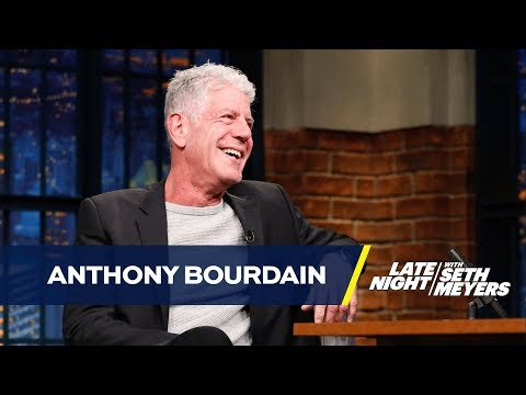 Anthony Bourdain Was Labeled a Mossad Agent by Romanian Newspapers