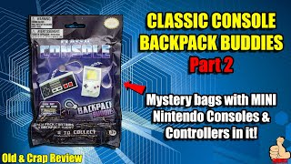Blind Bags/Mystery Bags 2: Classic Console Backpack Buddies (Nintendo Goodies)
