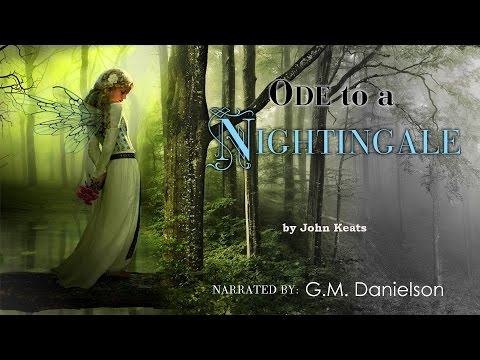 """Ode to a Nightingale"" by John Keats - Romantic poetry reading"