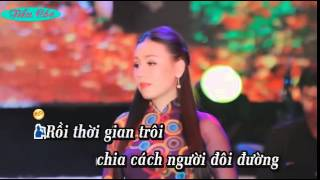 Can Nha Di Vang { karaoke } moi nu feat