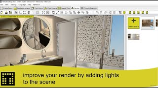 How to improve your render by adding lights to the scene