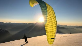 Paragliding Winter is Coming