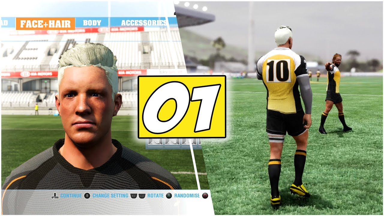 """Rugby Challenge 4 """"Be A Pro"""" Gameplay *OUR FIRST FEW GAMES* 