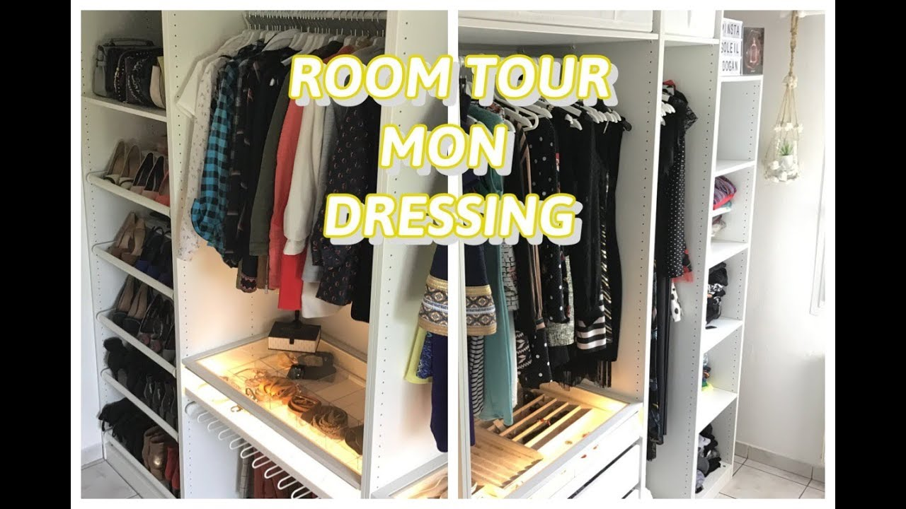 room tour dressing sans porte 👠 rangement 👠 mon univers