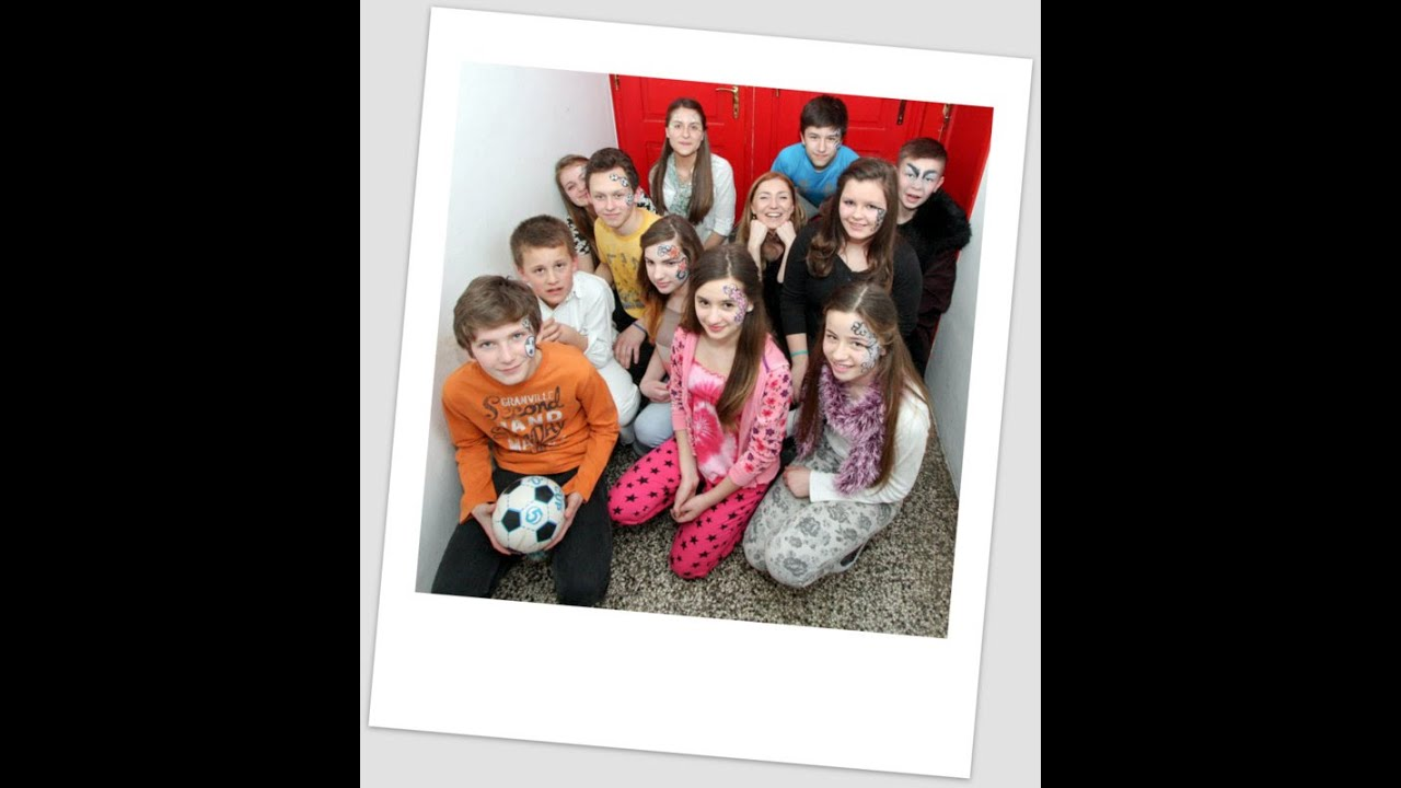 Theaterspiele - Der selbstsüchtige Riese - Grundschule Visoko - YouTube