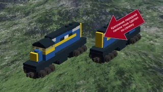 Инструкция как сделать мини поезд