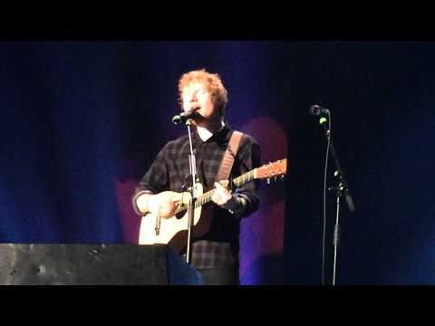 Ed Sheeran Little Bird Manchester 27th October HD