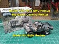 Revell 1/24 78 GMC Big Game Country Pickup Model Kit Build Review 85-7226