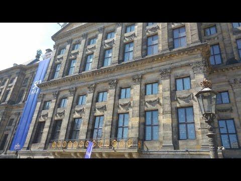 Экскурсия по королевскому дворцу на площади Дам в Амстердаме/Royal Palace in Amsterdam