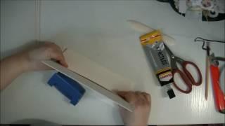 Katya Pogodina PRO скрапбукинг: ткань и бумага/урок 4