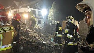 Gasexplosion im Skiort Szczyrk: 4 Erwachsene und 4 Kinder sterben