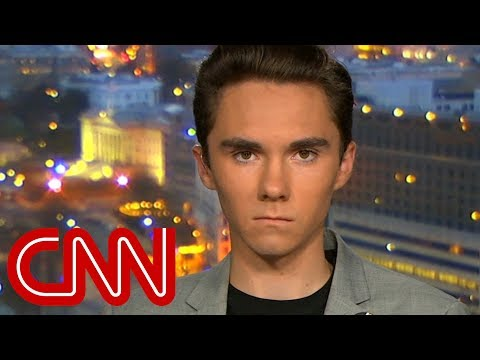 David Hogg reacts to Laura Ingraham's apology