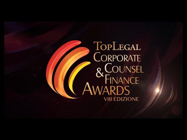 TopLegal Corporate Counsel & Finance Awards 2021 - La serata