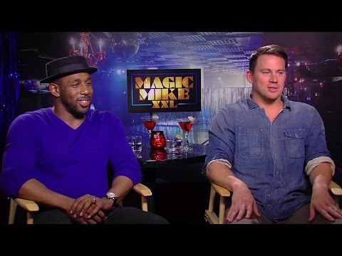 Channing Tatum & Steven 'tWitch' Boss - Magic Mike XXL Interview HD