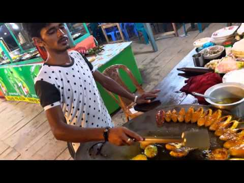 Mawa ferry ghat, cooking vdo of Hilsha Fish.