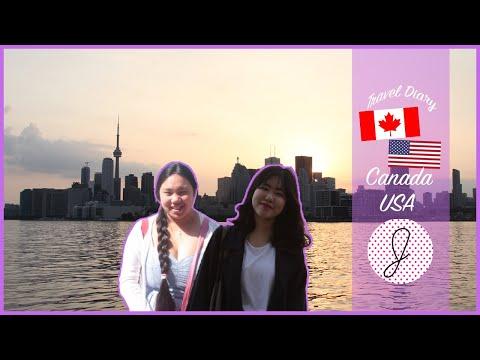 Travel Diary North America