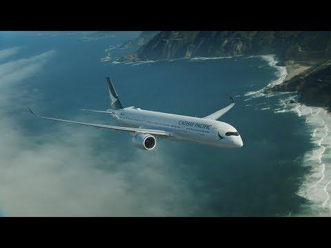 Cathay Pacific Airbus A350-941 B-LRL CX357-HongKong(HKG)-Manchester(MAN)