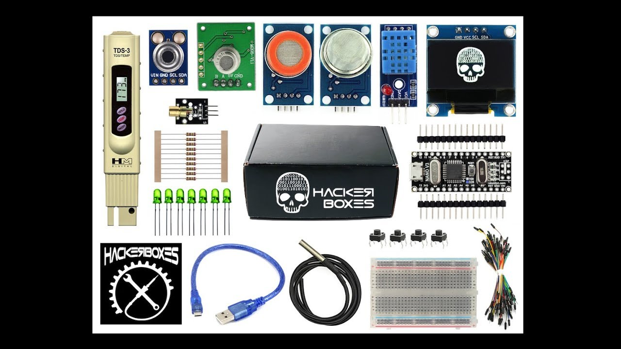 HackerBox 0035: ElectroChemistry: 11 Steps