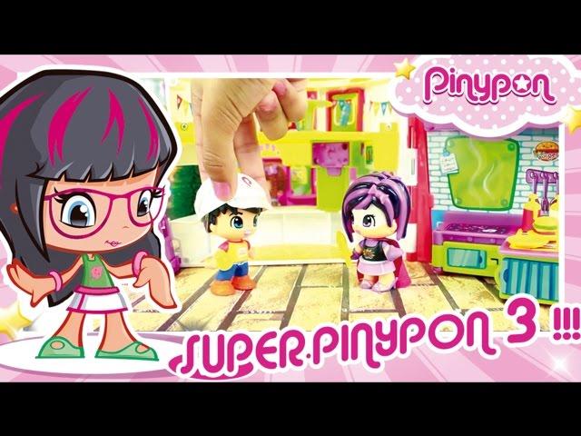 Aventuras de Super Pinypon 3 en el Burguer | Mundo Pinypon