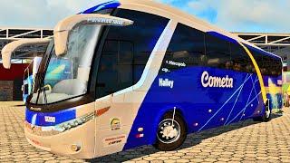 Euro Truck Simulator 2 - Dirigindo Ônibus