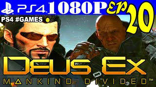 Прохождение DEUS EX: MANKIND DIVIDED ► Часть 20 на #PS4 — БАЗА в АЛЬПАХ