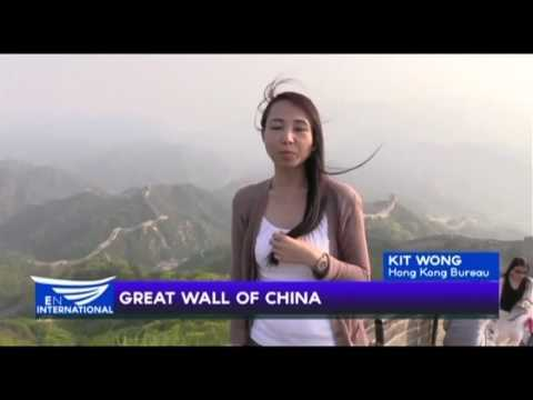 GREAT WALL OF CHINA - REPORT BY KIT WONG OF EBC HONGKONG BUREAU