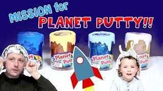 Planet Putty Mission: Space Exploration Through The Solar System To Find Planet Putty! (Part 1)