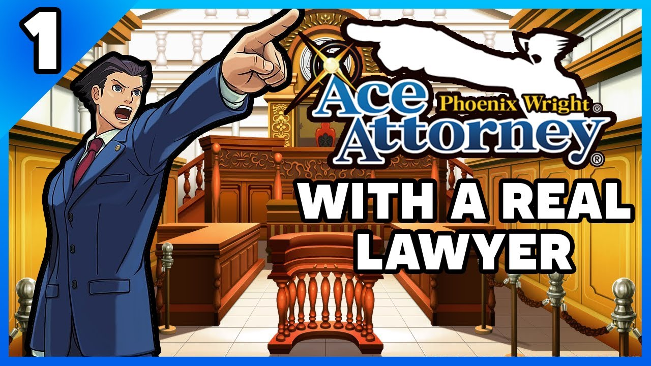 Download Phoenix Wright Ace Attorney Playthrough with an Actual Lawyer! Part 1