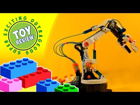 Hydraulic Arm Edge (Robotic Arm) by OWI -  OWI-632  - STEM Toy Review