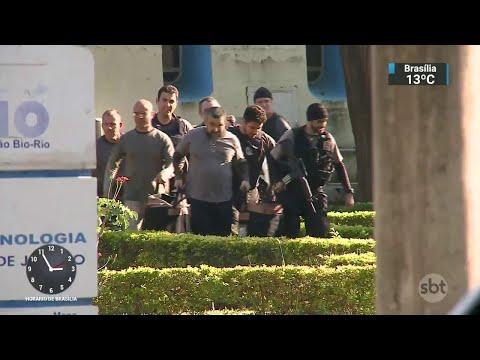 Operação investiga 10 pessoas por desvios de verba da saúde no Rio   SBT Notícias (29/05/18)