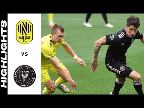 Nashville SC Inter Miami Goals And Highlights