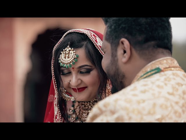 Pratik & Chitra | Cinematic Wedding Teaser | Kota | The Wedding Focus