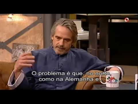 Jeremy Irons Asks WHO Is The World in DEBT To??