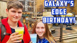 Galaxy's Edge for Kelly's Birthday