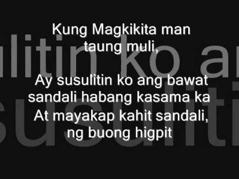 Kung Magkikita Tayong Muli by J-Rhymez of ACOUSTIC THUGS (SPOTLIGHT ENTERTAINMENT)