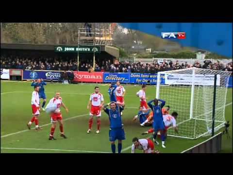 AFC Wimbledon 0-2 Stevenage | The FA Cup 2nd Round - 27/11/10