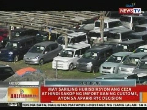 BT: 'Car Yard' sa Cagayan Special Economic Zone & Freeport,