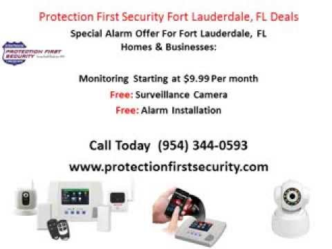 Alarm Fort Lauderdale, FL | $9.99 Deal | (954) 344-0593 | Home Security | Alarms | Fort Lauderdale