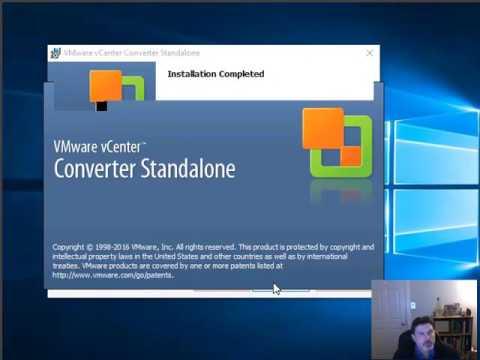 P2V With VMWare's Standalone Converter