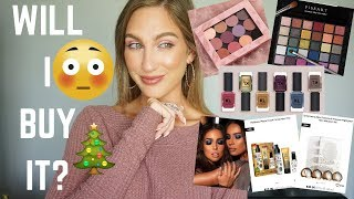 WILL I BUY IT? │ NEW MAKEUP + SO MANY HOLIDAY RELEASES