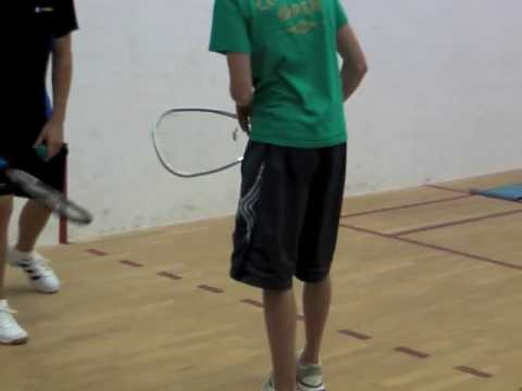Funny Racquetball Videos: getting the rust off - YouTube