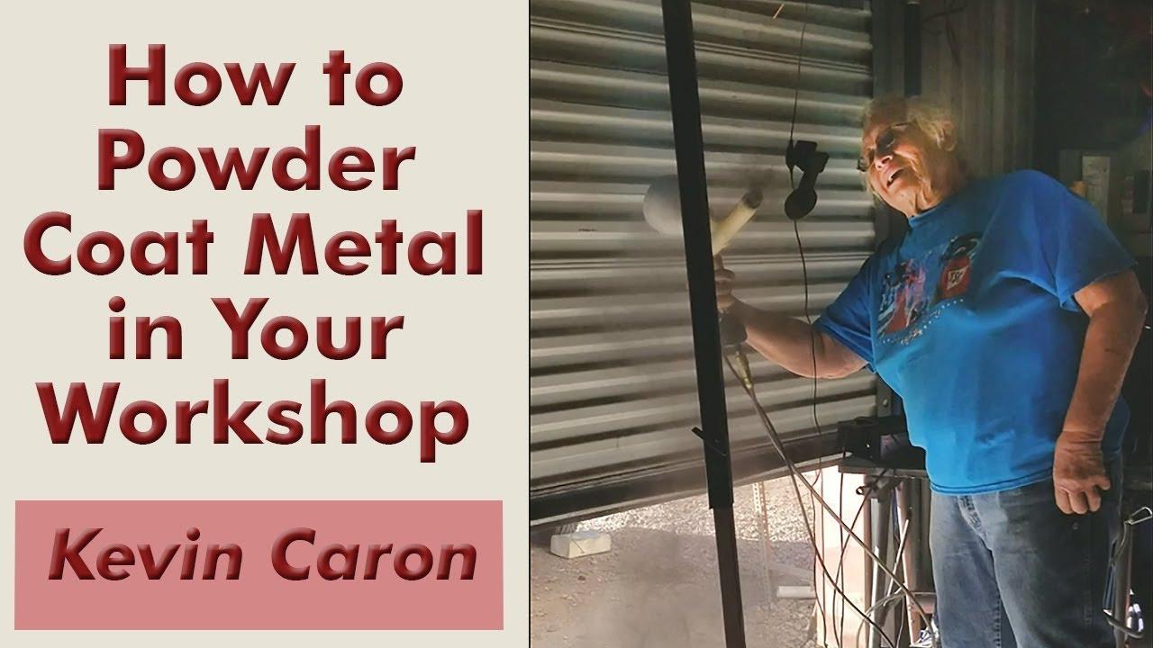 Powder Coat Metal In Your Own Work