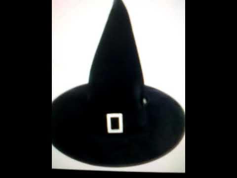 Делаем шляпку ведьмы для кошки